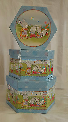 Gift boxes set of 3 - Easter designs - Great for gifts