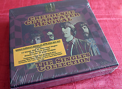 Creedence Clearwater Revival • The Singles Collection Box • Brand New/Not Sealed
