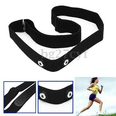 Soft Chest Belt Strap for Polar Garmin ANT Wahoo Sensor Sport Heart Rate Monitor