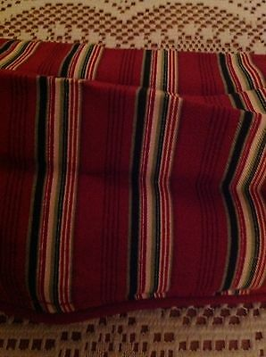 "Longaberger 36"" Fabric Square - Holiday Stripe"