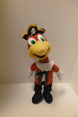 Pirate Woody Woodpecker Stuffed Animal Plush Walter Lantz Kellytoy 13""
