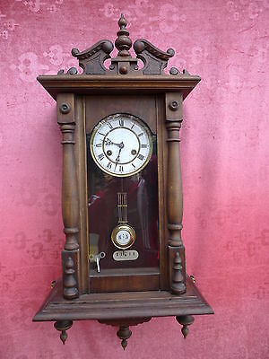 beautiful, antique Pendulum Clock___regulator__Junghans___
