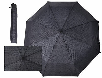 Guess Umbrella G Logo Pattern Matching Cover NWT 100% Authentic Designer Black