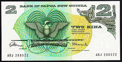 Papua New Guinea 2 Kina, 1975, First Currency, P.1a