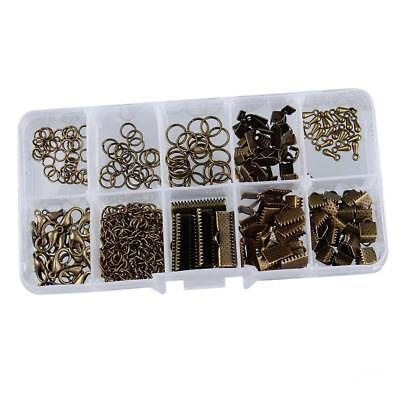 Box of Jewelry Making Starter Kit Set Jewelry Findings Bronze