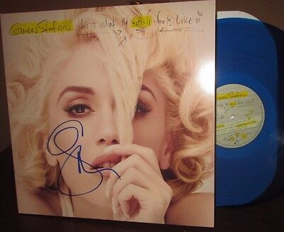 "Gwen Stefani signed Barnes Noble excl This Is What the Truth Feels Like 12"" LP"