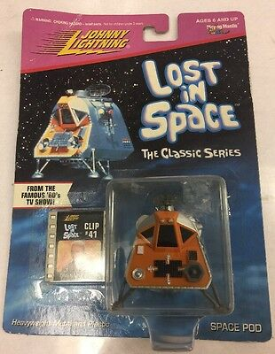 1998 Johnny Lightning Playing Mantis LOST IN SPACE Space Pod with Film Clip. New
