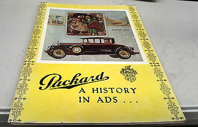PACKARD - A HISTORY IN ADS  - 1903 to 1956