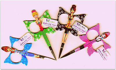 Scissors Embroidery Angel Choice of colour 3.5 i dainty girly spotty snips
