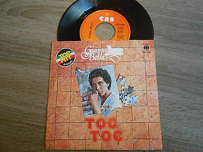 "Gianni Bella - Toc Toc, rare german 7"" in Picture Cover on CBS"