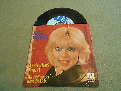 "Rita Pavone - Arrivederci Napoli, rare 7"" on Music Label, sung in german, TOP!!!"