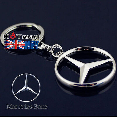 Mercedes Benz Keyrings Car Key Chain Metal Alloy key ring best gift keyings Benz
