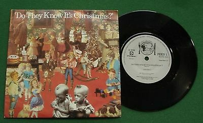 "Band Aid Do They Know It's Christmas / Feed The World FEED1 7"" Single"