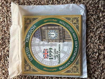 1999 Royal Mint UK Brilliant Uncirculated 8-Coin Year Set