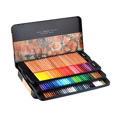 Marco Renior Fine Art Wooden Colored Pencils Set for Sketching Drawing Coloring