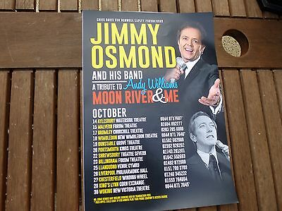 Jimmy Osmond...Advertising Poster...16.50 x 11.75 inches approx