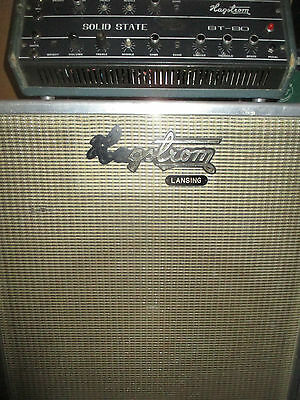 70's HAGSTROM BT 80 AMP & CAB - made in SWEDEN