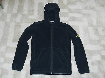 STONE ISLAND PILE HOODED JUMPER  size 12 years  as new conditions