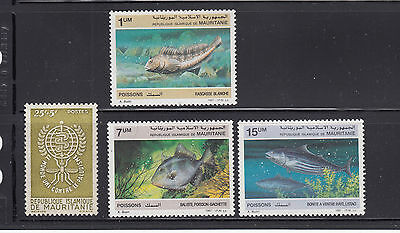 Mauritania 1962-88 Fish  Two complete Mint Never Hinged Sets