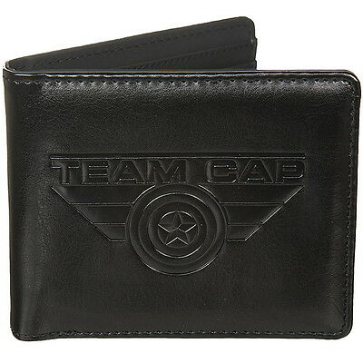 NEW OFFICIAL Marvel Captain America Civil War Boys Mens Wallet in Gift Box
