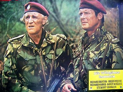 James Bond Actor + Roger Moore + The Wild Geese + Richard Harris +