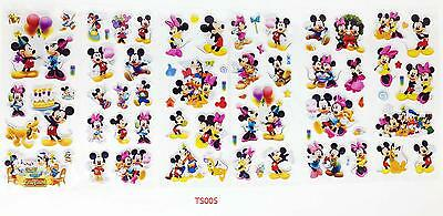 wholesale! 3D Children Stereoscopic Stickers-Lot Of 6PCS kids Favorite Gifts