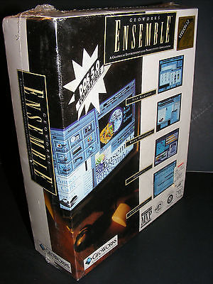 GEOWORKS ENSEMBLE Version 1.2 DOS IBM PC (RARE NEW SEALED Vintage Software 1991)