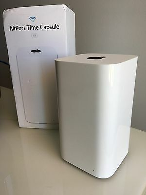 Apple AirPort Time Capsule 3 TB External Hard Drive - 4 Months Old