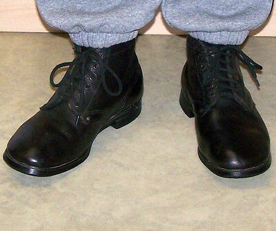 1941-1943 WWII Military Real Leather Boots Ankle Soviet Red Army CCCP