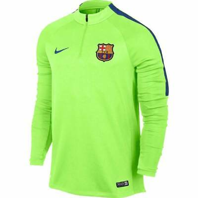 Nike Barcelona Squad Drill Top 2016/17 - Green -Mens