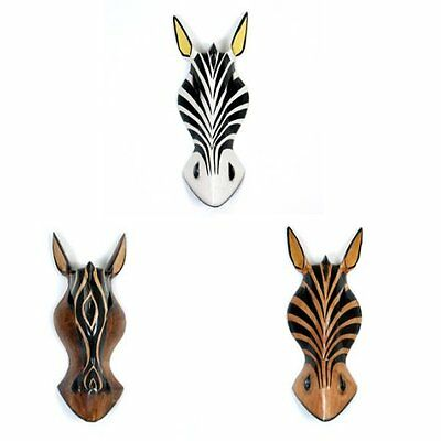 Zebra Wall Mask - Decoration - Zebras - Gift Idea - Wall Decorations - Home Deco