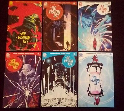 The Revisionist #1 2 3 4 5 6 - 6 issues Aftershock comics