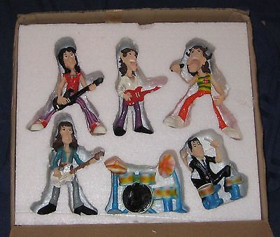 ROLLING STONES rare set of resin figures MINT & boxed