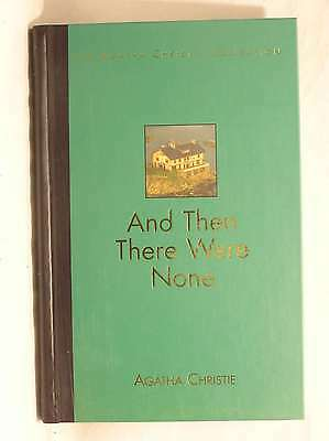 And Then There Were None [The Agatha Christie Collection], Agatha Christie, Exce