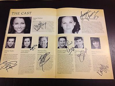 Wicked The Musical London SIGNED Programme 2014/2015 FULL MAIN Cast
