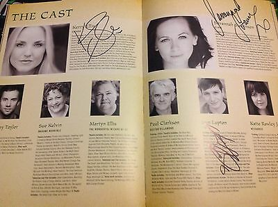 Wicked the Musical SIGNED Programme Kerry Ellis, Savannah Stevenson + Sam Lupton