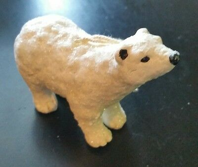 "Polar Bear Orniment 3.5"" long"