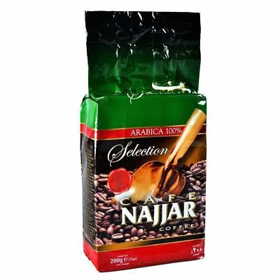 Najjar Coffee Ground with Cardamom Arabian Turkish Arabic Coffee Powder 200g