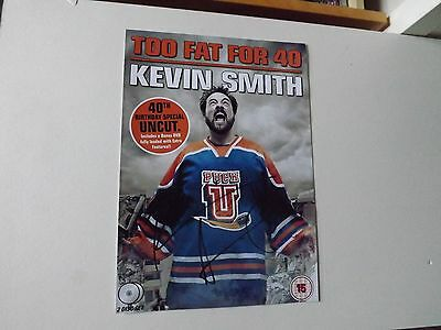 Kevin Smith 'Too Fat For 40' signed - COA - 99p start