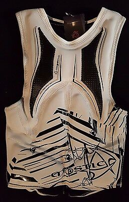 Mystic Force Impact Vest White for Kiteboarding & Wakeboarding NEW size Large