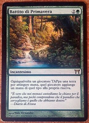 Battito di Primavera Magic MTG Kamigawa Italiano Italiana