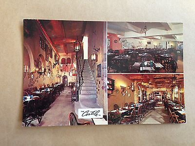 The Cortile Restaurant Fifth Avenue New York Postcard Usa 1962