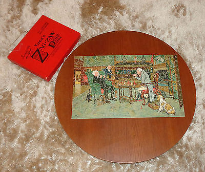 Vintage Tuck's Zag - Zaw wooden Puzzle Jigsaw Mated by C. Aldin appr. 320 pieces