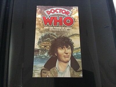 Doctor Who and The Power of KROLL Dicks A Target Book 1984 W H Allen & co Publi