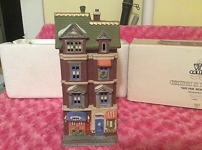 Department 56 Christmas in the city series 5609 park avenue townhouse