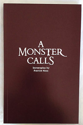 A MONSTER CALLS  Screenplay For Your Consideration ~ Brand New!
