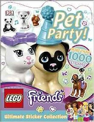 LEGO Friends Pet Party! Ultimate Sticker Collection, Murray, Helen, DK, New Book