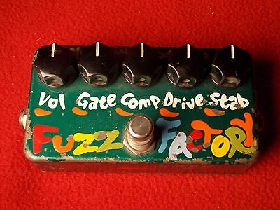 Zvex Fuzz Factory Rare Sought After 1998 Model Scraped Transistors Myrold, TONE!