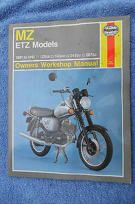 Mz Emz Models Haynes Workshop Manual Free Uk Postage