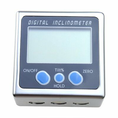 0.05 Degree Digital Angle Cube Gauge Electronic Gauge Sea Level Protractor ED